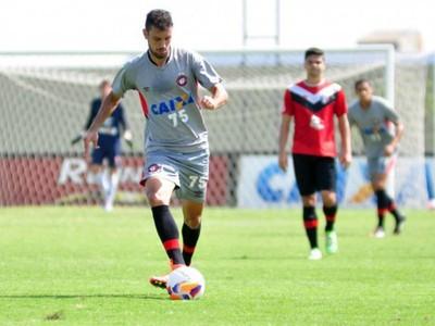 Bruno Pelissari Atlético-PR (Foto: Divulgação/ Site oficial Atlético-PR)