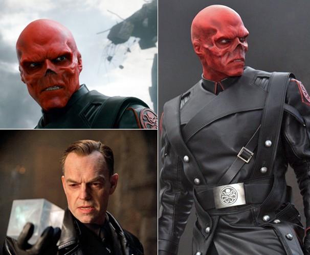 Johann Schmidt (Hugo Weaving), é o Caveira Vermelha e pretende dominar o mundo através do Tesseract (Foto: Divulgação/Reprodução)