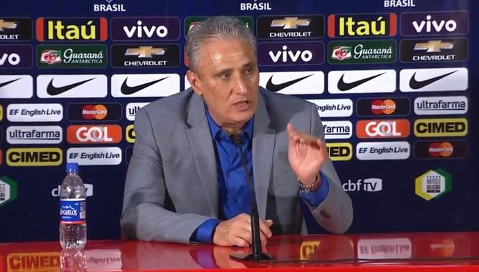 Tite convoca a Seleção para amistoso contra a Colômbia no Rio de Janeiro