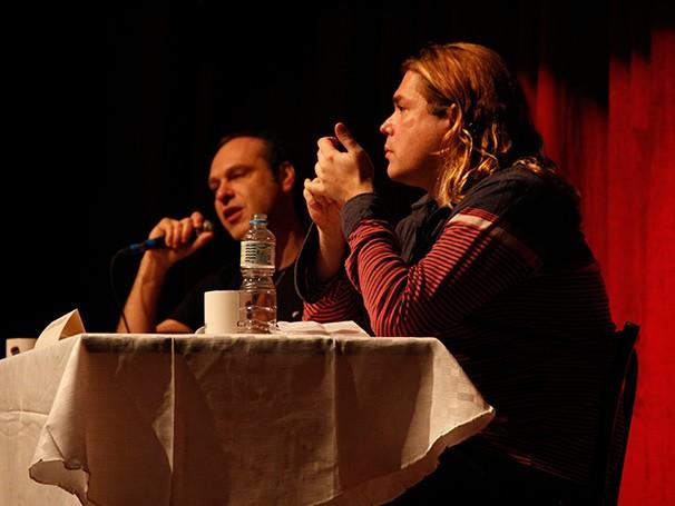 Os diretores João Fonseca e Charles Möeller (Foto: Nathalia Fernandes)