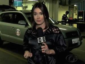 Michelle Barros fala sobre sua experiência na TV Gazeta  (Foto: Reprodução/TV Gazeta)