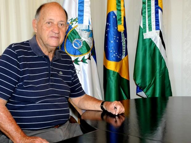 Prefeito de Quissamã, Otávio Carneiro (Foto: Divulgação/ Prefeitura de Quissamã)