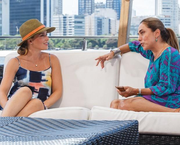 Angélica entrevista Cissa Guimarães (Foto: Artur Meninea/Gshow)