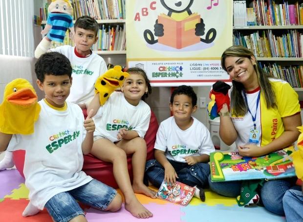O Viva a Leitura oferece um espaço cultural dedicado ao universo literário infanto-juvenil (Foto: Divulgação)
