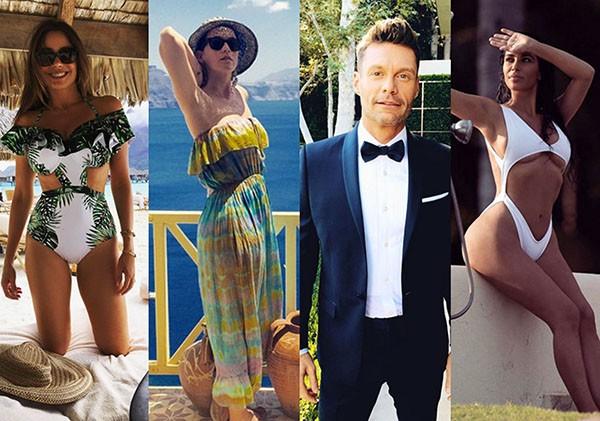 Sofia Vergara, Katy Perry, Ryan Seacrest, Kim Kardashian (Foto: Instagram)