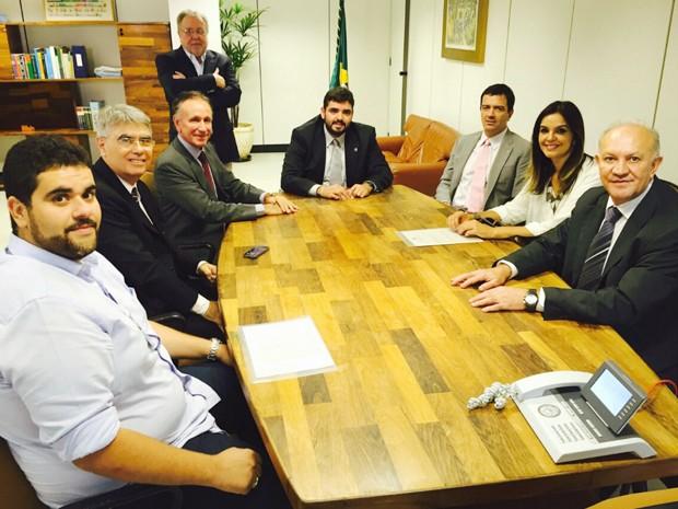 Uberaba assinatura outorga TV Integração geradora de conteúdo Rogério Neri André Figueiredo (Foto: G1)