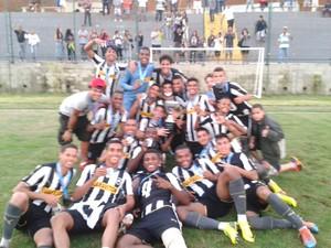 Botafogo campeão da Taça Rio Sub-20 (Foto: Divulgação / Botafogo F.R)
