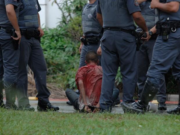 SP tiroteio Jockey (Foto: Gusvato Gerchmann/Eleven/Estadão Conteúdo)