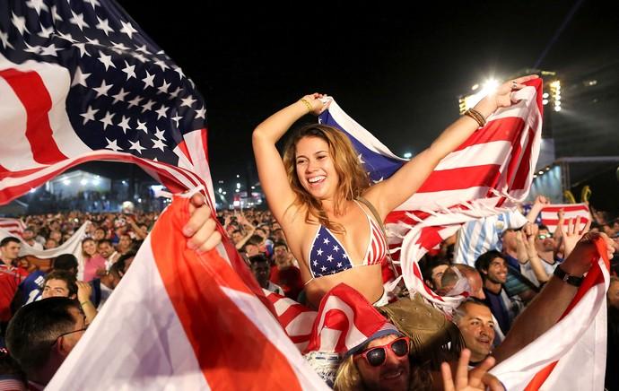 FIFA Fan Fest - EUA (Foto: AP)