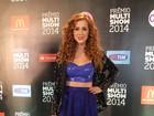 Sophia Abrahão deixa barriguinha de fora em premiação: 'Look poderoso'