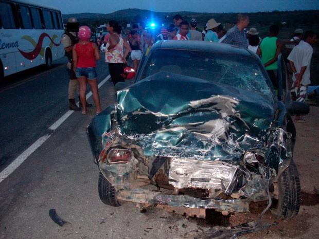 acidente (Foto: José Ferraz/Blog do Ferraz)