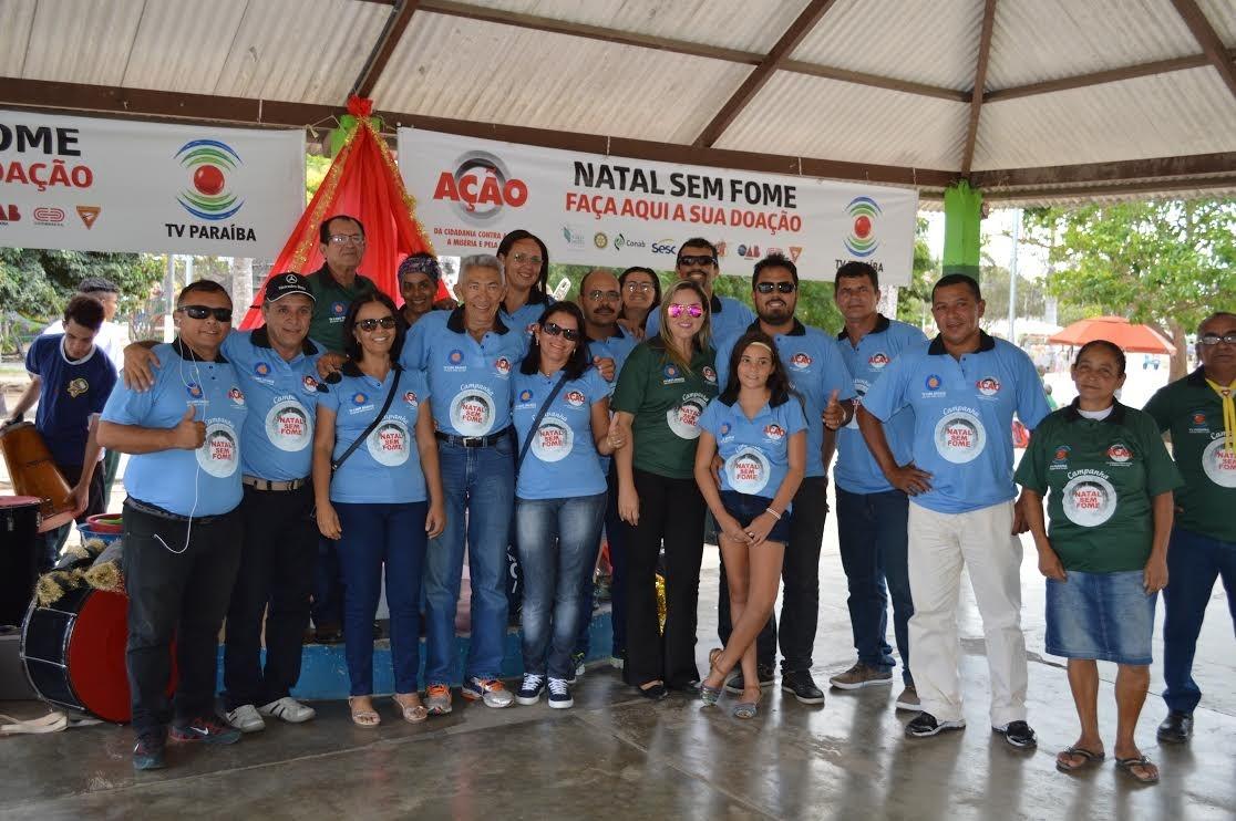 Projeto é realizado pelo Comitê da Ação da Cidadania, com o apoio da Rede Paraíba de Comunicação (Foto: Fernanda Souza/Jornal da Paraíba)