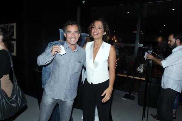 Chico Diaz e Camila Pitanga (Foto: Marcello Sá Barretto/ AgNews)