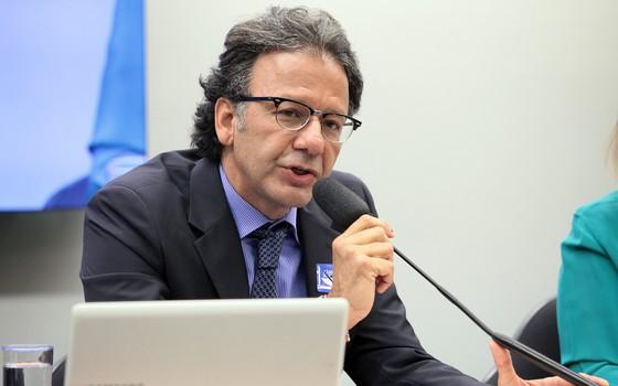 Jorge Pontes, delegado aposentado da Polícia Federal  (Foto: Antonio Augusto / Câmara dos Deputados)