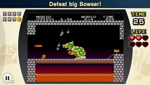 Cena de 'NES Remix', que ganhará versão em disco (Foto: Divulgação/Nintendo)