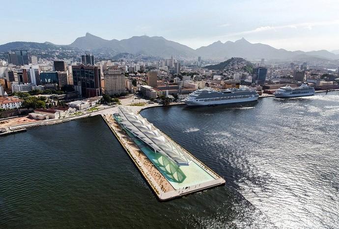 O recém-inaugurado Museu do Amanhã, na Região Portuária (Foto: Prefeitura do Rio)