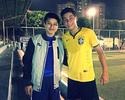 Apadrinhado por Zizao, jovem brasileiro é convocado pela China