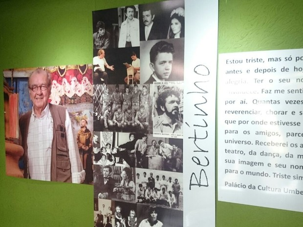 Ator é velado no palácio da Cultura  (Foto: Renata Marconi/G1)
