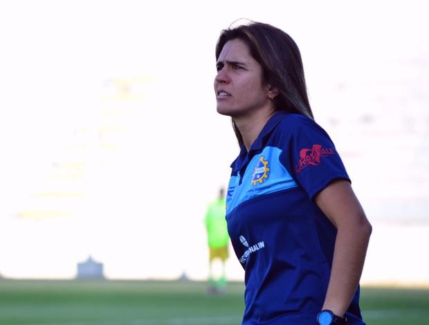 Emily Lima técnica São José futebol feminino