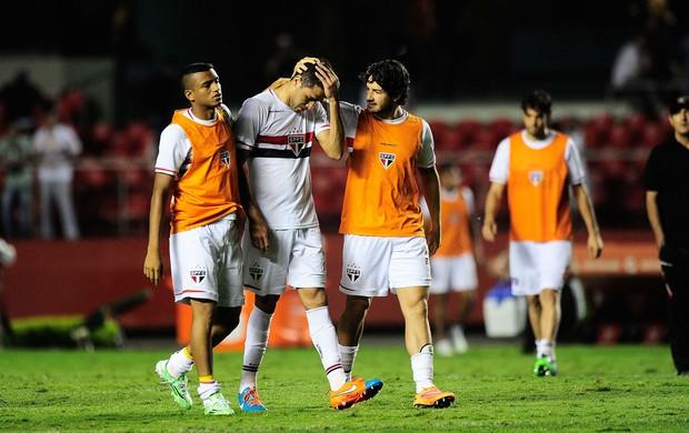 Alan Kardec São Paulo x Atlético Nacional (Foto: Marcos Ribolli)