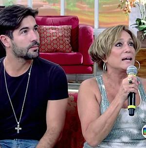 Susana Vieira comenta relação com Sandro (TV Globo)