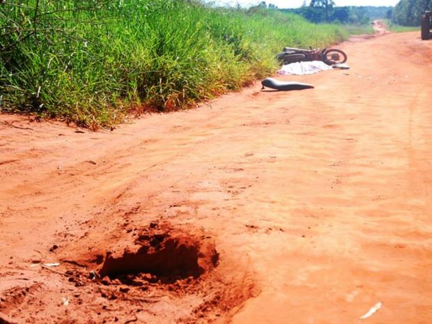 Suspeita da polícia é de que jovem tenha sido arremessado ao passado em buraco (Foto: Thiago Apolinário/ Arquivo Pessoal)