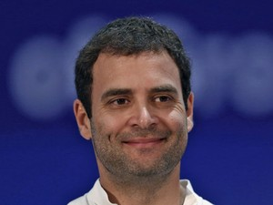 Rahul Gandhi em foto de abril de 2013 (Foto: Adnan Abidi/Reuters)