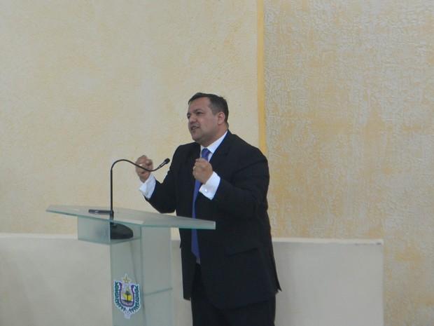 Deputado Pedro Da Lua, do PSC (Foto: Abinoan Santiago/G1)
