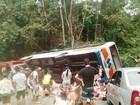 Quatro vítimas de acidente em Paraty seguem internadas no litoral de SP