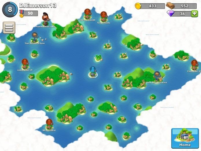 O radar é importante para abrir novos lugares no mapa (Foto: Reprodução/Super Cell Forum)