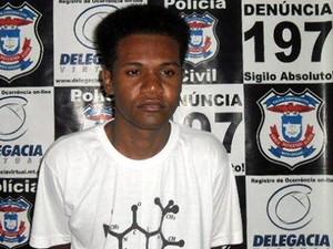 Fugitivo de presídio de segurança máxima de RO é recapturado em MT (Foto: Divulgação/Polícia Civil de MT)
