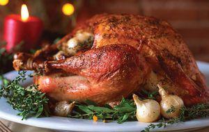 Peru de Natal no forno recheado fácil de fazer