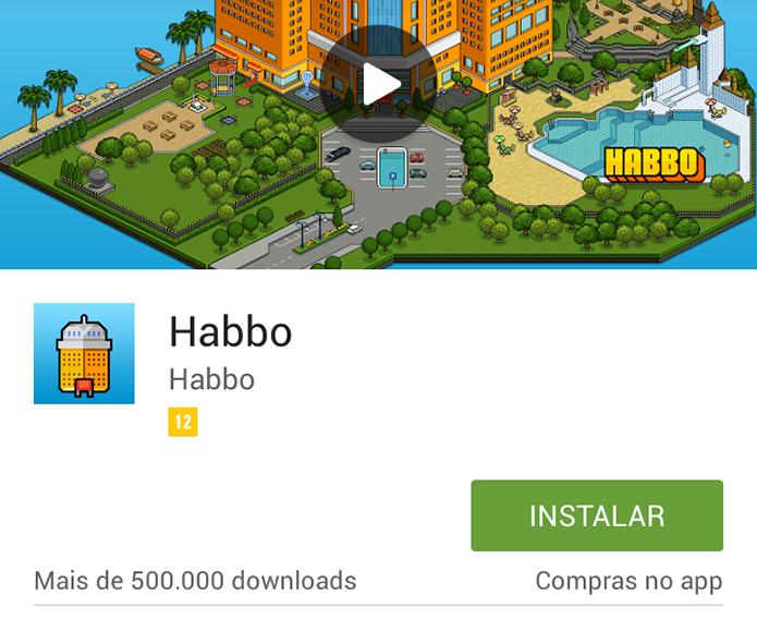Habbo: veja como jogar o game de interação no Android e no iOS (Foto: Reprodução/Murilo Molina)