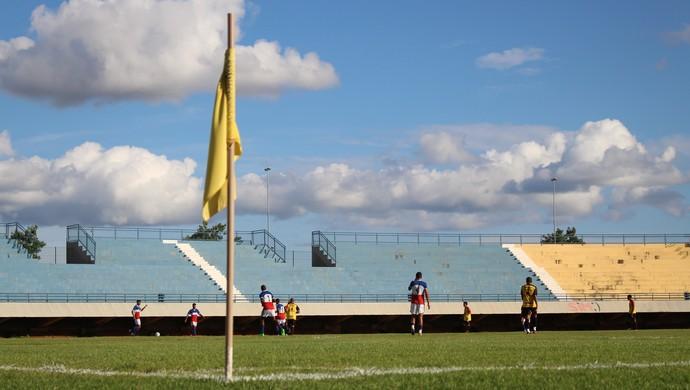 Amistoso entre Capital FC e Tocantins (Foto: Nelio Soares/GloboEsporte.com)