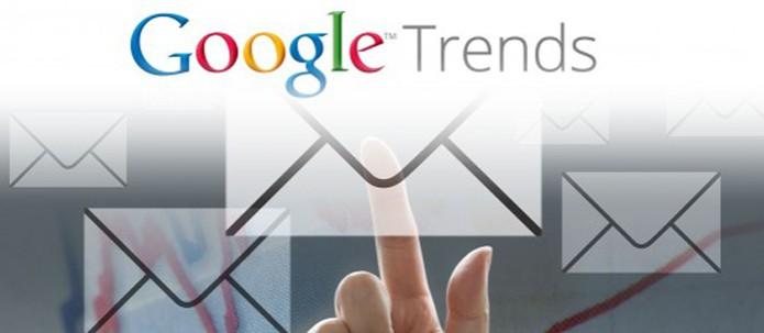 Google Trends lança notificações por e-mail com buscas mais populares (Foto: Divulgação/Google)