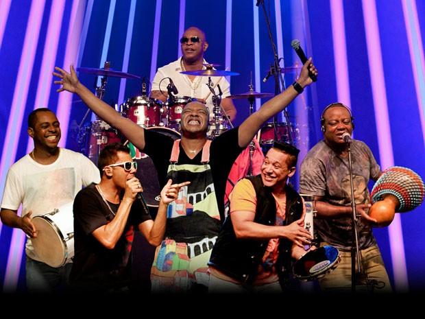 A banda de pagode Molejo vai apresentar clássicos dos 25 anos de carreira no baile (Foto: Divulgação / I Love Cafusú)