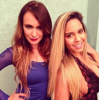Bianca Jahara e Mulher Melão (Foto: Instagram / Reprodução)