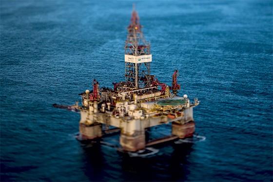 Plataforma da Petrobras  no litoral fluminense (Foto: Dado Galdieri/Bloomberg via Getty Images)