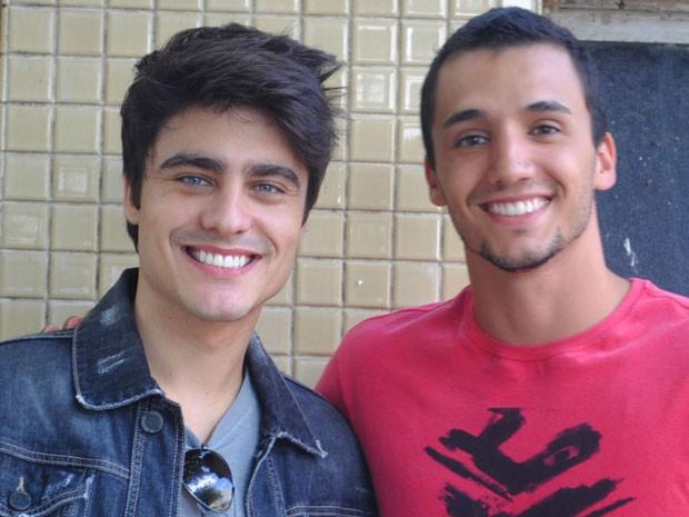 Pedro Cassiano será Sal, irmão mais velho de Vitor (Guilherme Leicam) (Foto: Tv Globo / Malhação)
