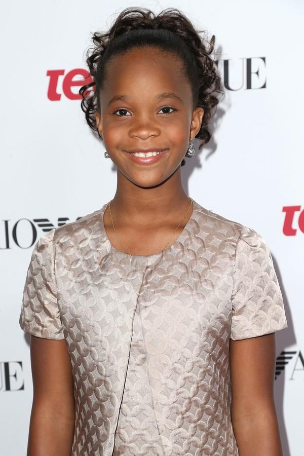 Quvenzhané Wallis (11) - Indomável Sonhadora (2012); 12 Anos de Escravidão (2013); Annie (2014) (Foto: Getty Images)