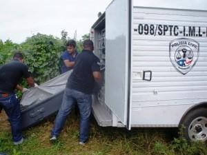 Corpo do adolescente foi encontrado em um matagal (Foto: Divulgação/Antonio Pinheiro)