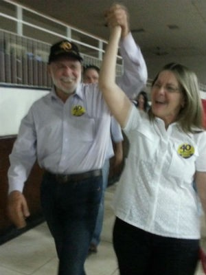 Airton Garcia (PSB) é eleito prefeito de São Carlos (Foto: Mariana Estevo/ G1)