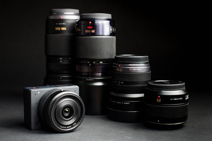 E1 oferece compatibilidade com lentes de marcas famosas (Foto: Divulgação/Kickstarter)