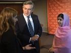 Malala promove projeto educacional para crianças sírias refugiadas