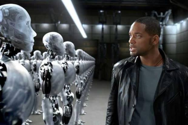 Cena do filme 'Eu, Robô' (Foto: Reprodução)
