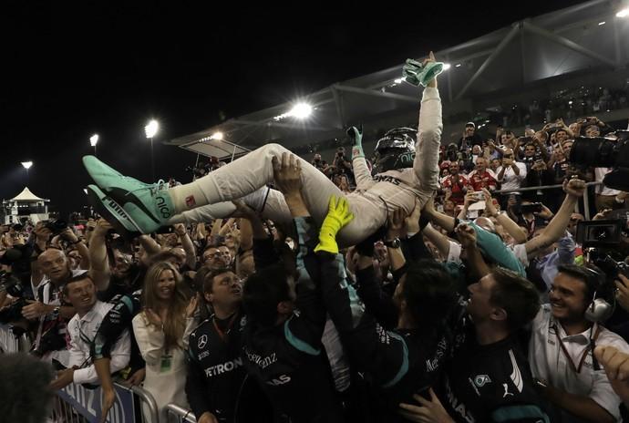 Nico Rosberg, campeão mundial da Fórmula 1 (Foto: Reuters)