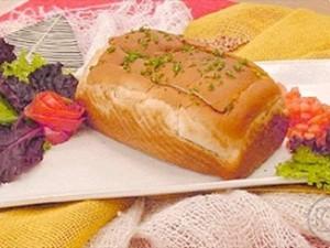 Pão africano é uma refeição completa (Foto: TV Globo)