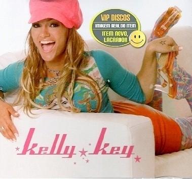 Kelly Key em capa de disco nos anos 2000 (Foto: Reprodução)