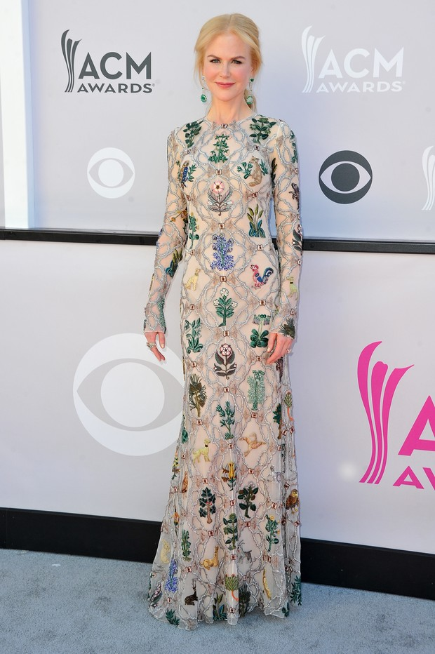 Nicole Kidman no American Country Music Awards (Foto: Getty Images)