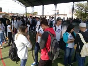 Escola Estadual de Assis é ocupado por alunos (Foto: Divulgação)